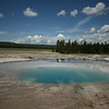 Opal Pool at Yellowstone