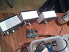 three megabitmeters running off of one arduino