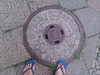 S manhole cover for gab