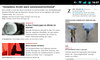 on front page of zeit online, near a snowden article