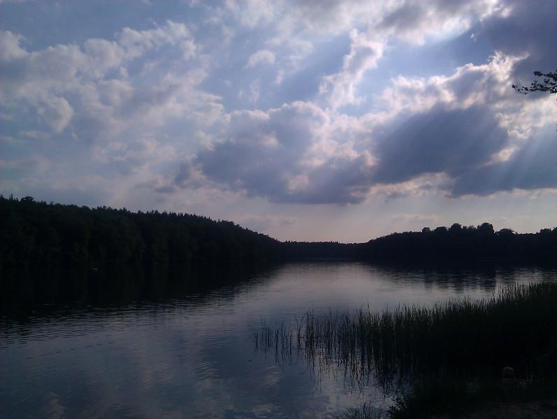 lake outside berlin
