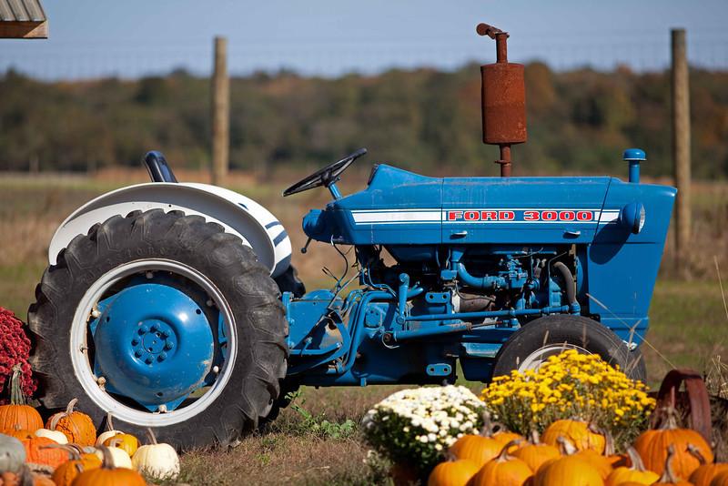 Tractor, Balsam Farms, Amagansett