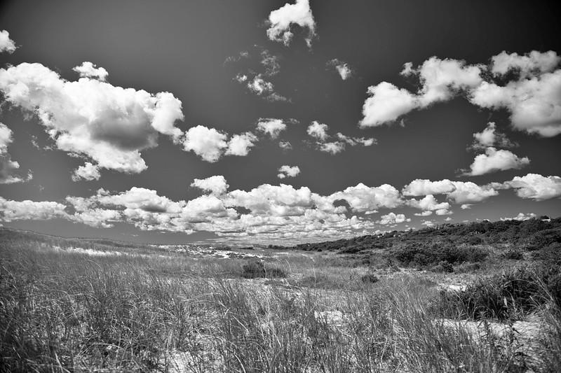 September Clouds over Dunes, Indian Wells