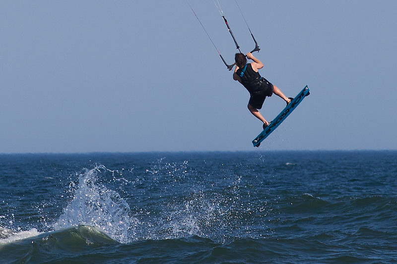 Kite Surfing, Wainscott Beach