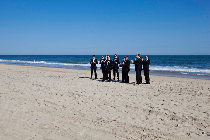 Tuxedos on the Beach, Montauk