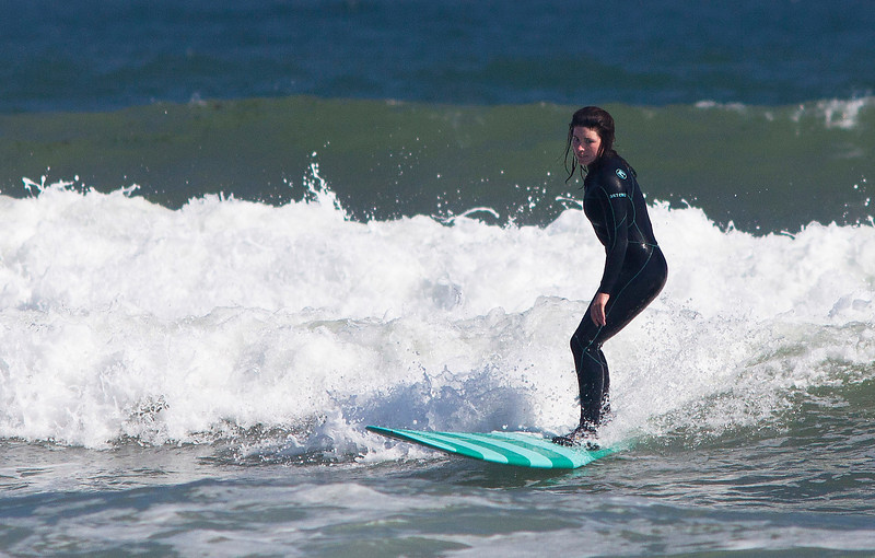 Surfer 6, Ditch Plains Beach, Montauk