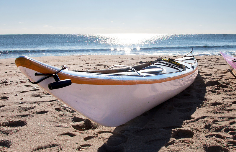Kayak, Georgica Beach, Winter