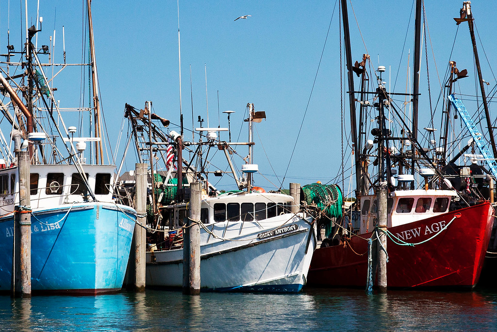 Montauk Fishing Boats