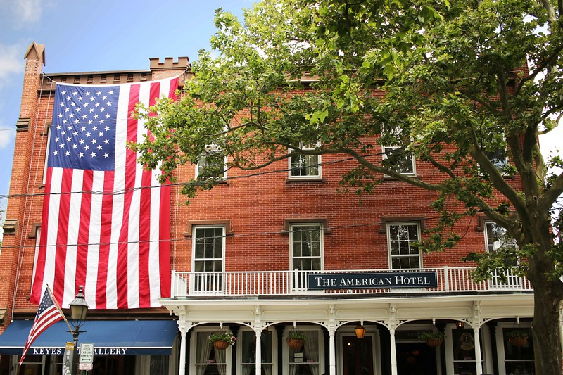 The American Hotel, Sag Harbor, July 4