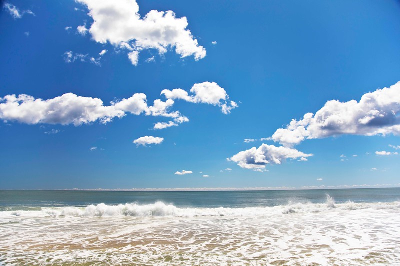 September Clouds, Indian Wells Beach