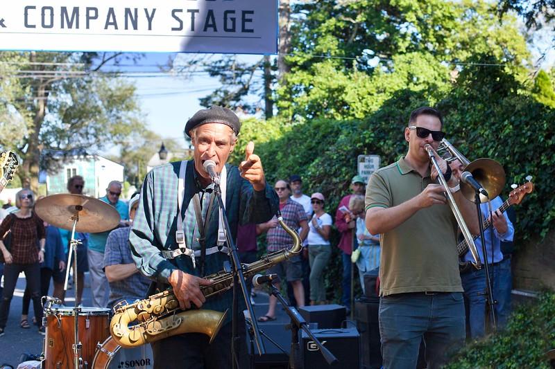 "Sag Harbor American Music Festival, 2018, The ""Scofflaws"""