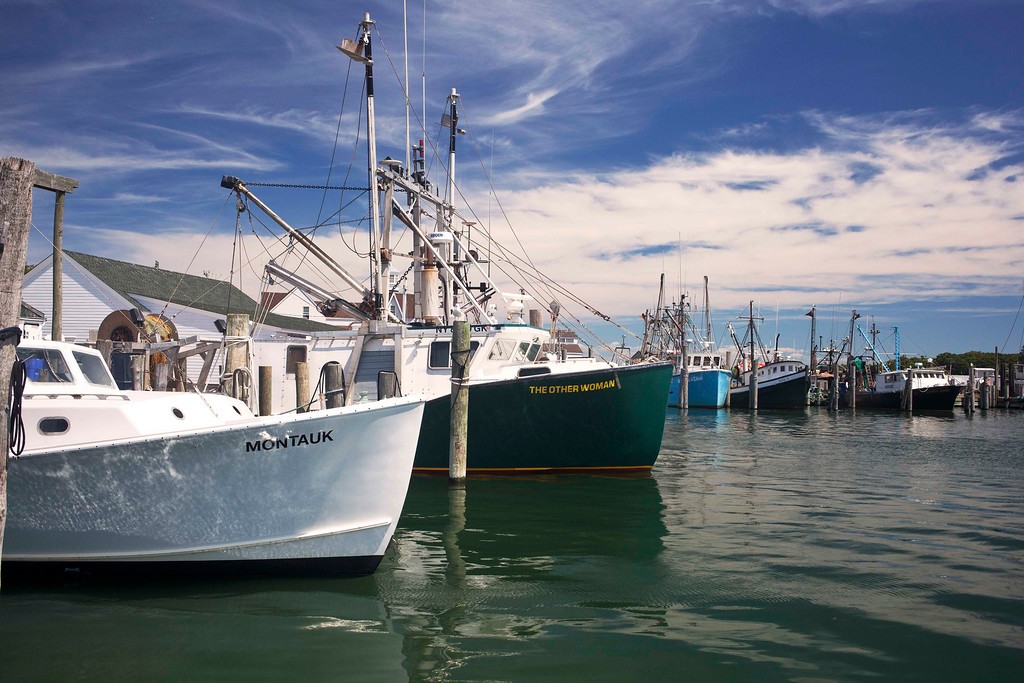 Fishing Boats, Montauk