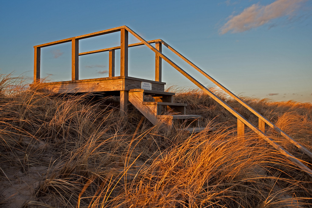 Golden Staircase, East Hampton