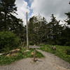 appalachian trail atop clingman's dome