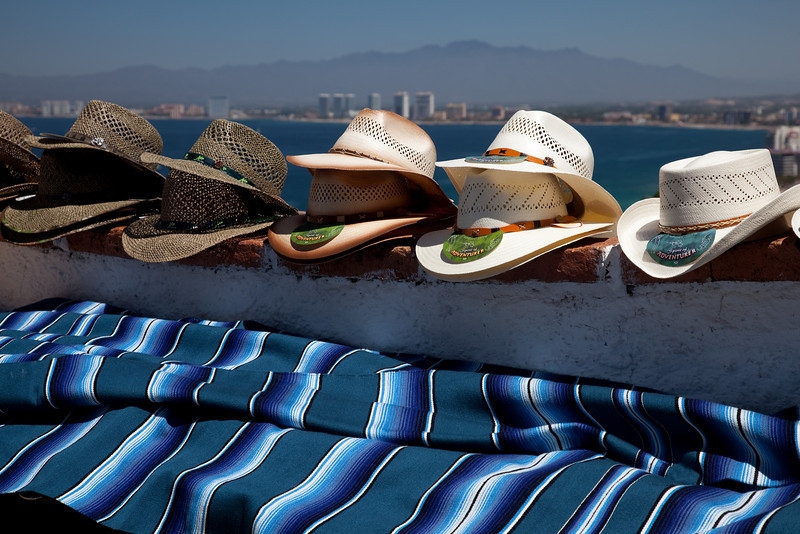 Hats and Blanket, Puerto Vallarta