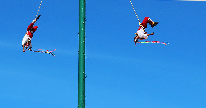 Papantla Flyers from Vera Cruz