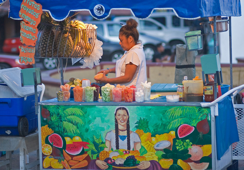 Fruit Vendor, Zihuatanejo