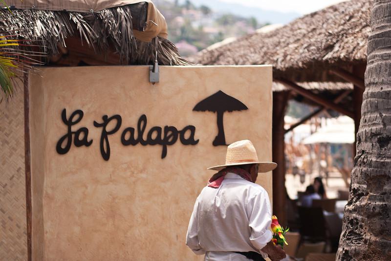 La Palapa Restaurant, Playa Dos Muertos, Puerto Vallarta