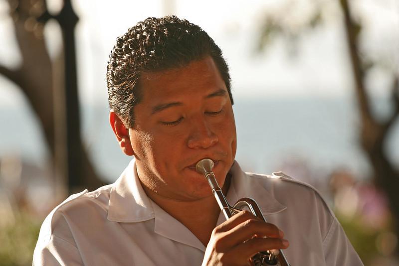 Musician from Banda Municipale, Puerto Vallarta