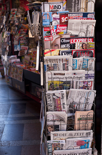Bologna Newspaper Stand