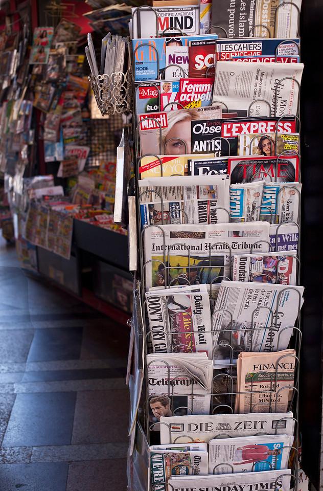 Newspaper Stand, Bologna