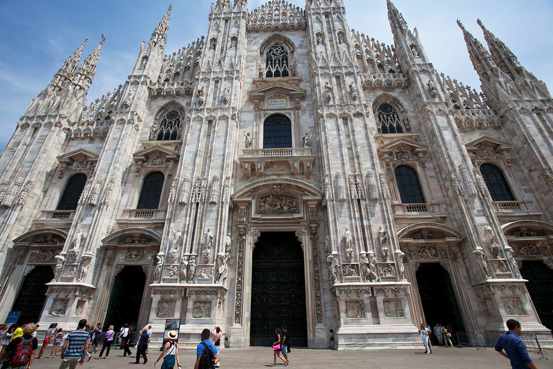 Third Largest Church in the World, the Duomo in MIlan