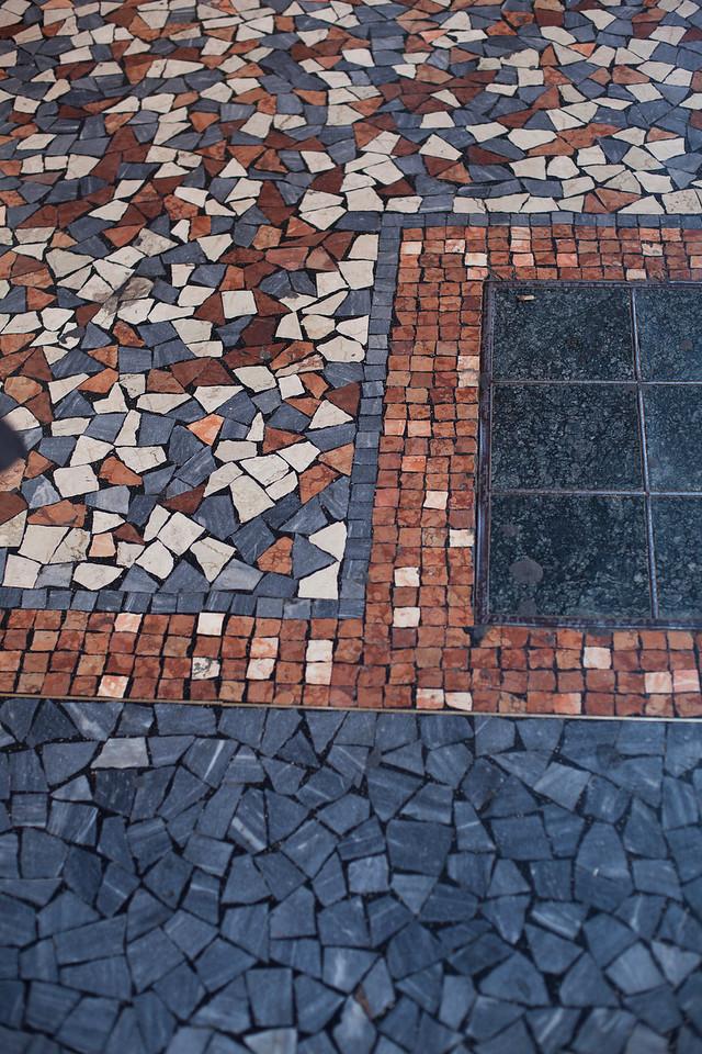 Mosaic Sidewalk in Bologna