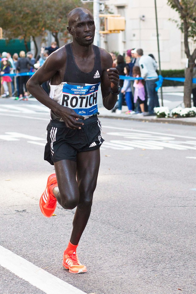 Lucas Rotich, Kenya, 2nd Place, 2:08:53