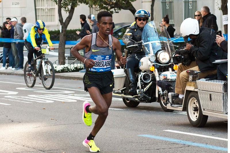 Ghirman Ghebreslassie, Eritrea, 1st Place, 2:07:51