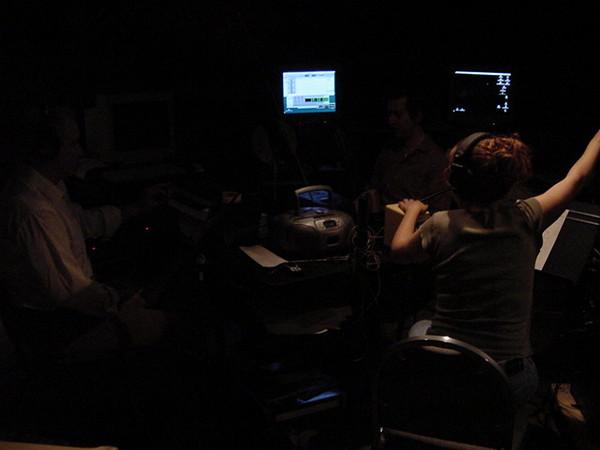 recording in the dark