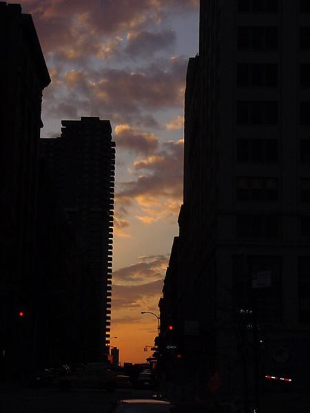 chambers street sunset