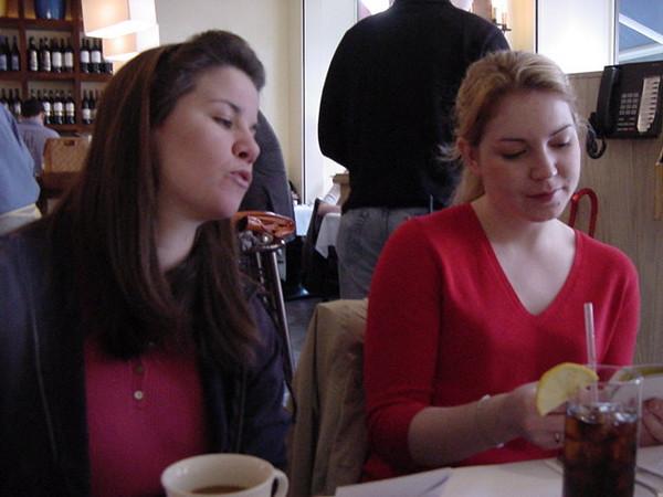 birthday brunch with the girls