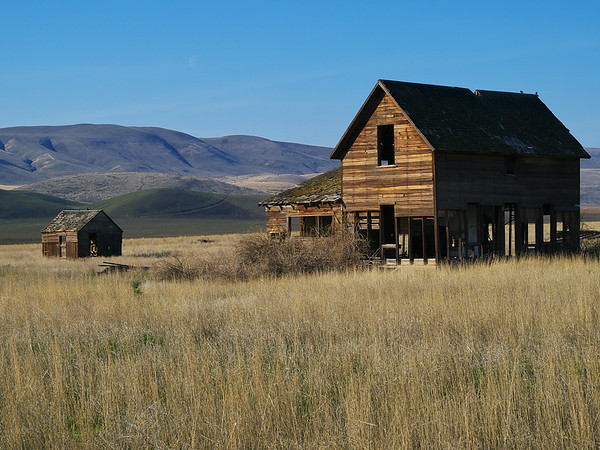 Old Farm Buildings South East Washington State.