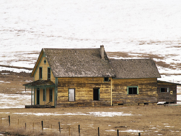 Old Farm house west of Bridesville BC.