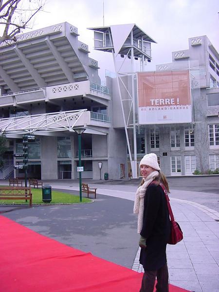 walking the red carpet
