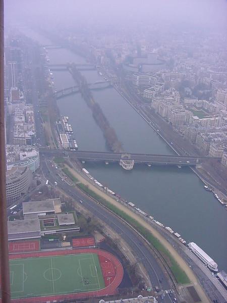 view from la tour eiffel