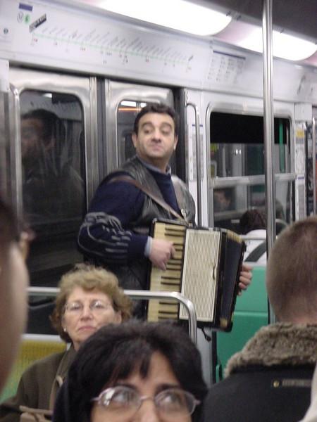 old accordion