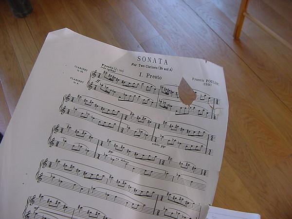 hole ridden sonata