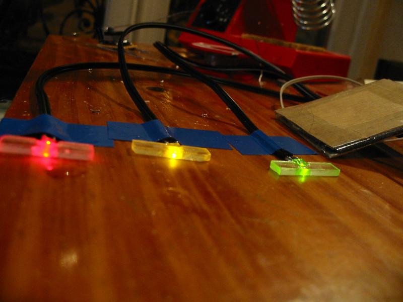 led\'s with extra plexiglass lenses