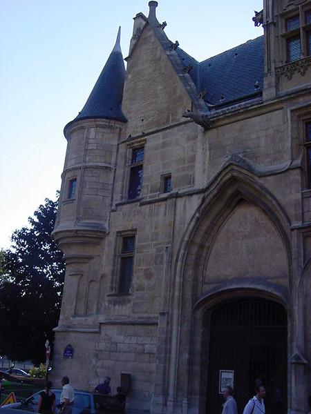 exterior turret