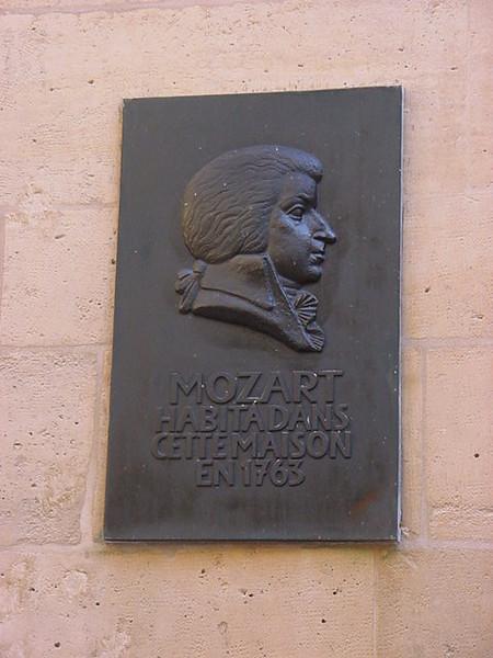 Mozart habita dans cette maison en 1763