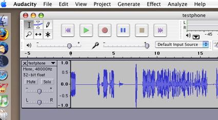 recording a telephone convo