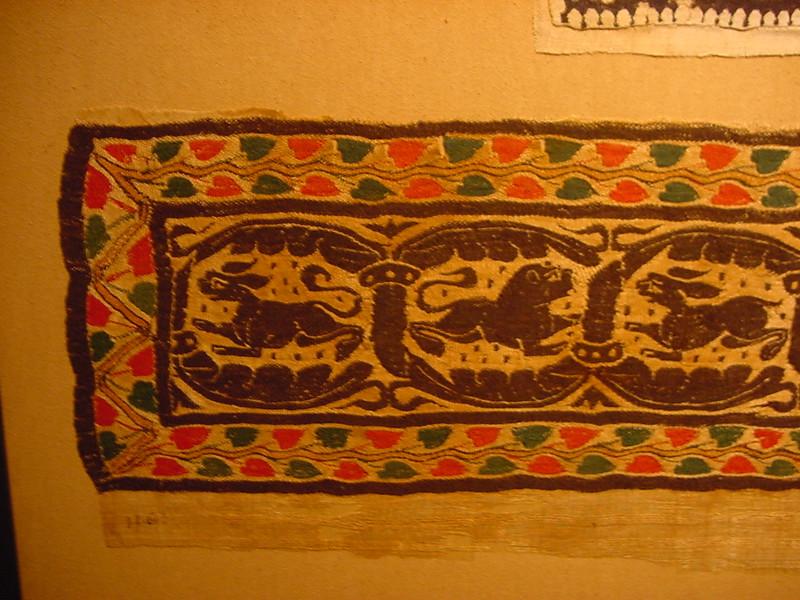 tapestry animals left