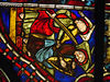musicians in stained glass