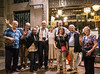 17 August 2017: this photo was actually taken almost two years ago, but on this day, with the terrible news from Barcelona, I want to pay tribute to the great city by sharing this image of a bunch of friends after a nice dinner just off the Rambla where today's terrorist attack took place.