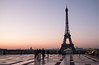 28 March 2017: one of the magic sights in this world, dawn as seen from Trocadero in Paris.