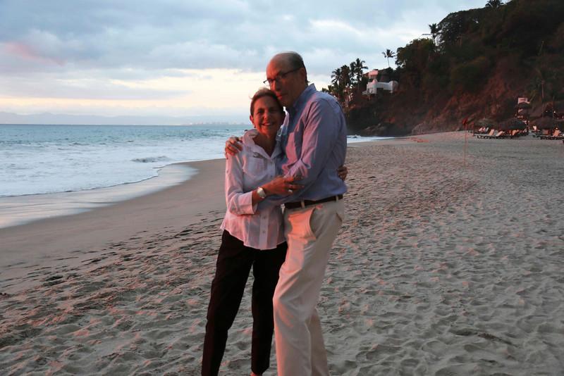 Bill and Sherry, Hyatt Ziva Beach