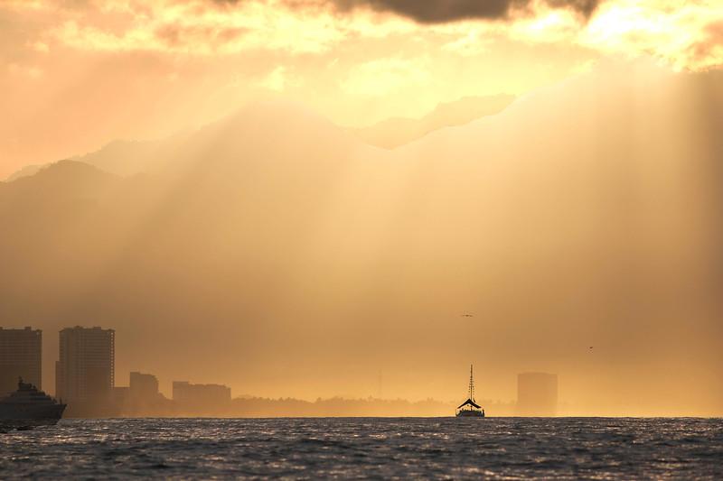 Sunrise, Puerto Vallarta