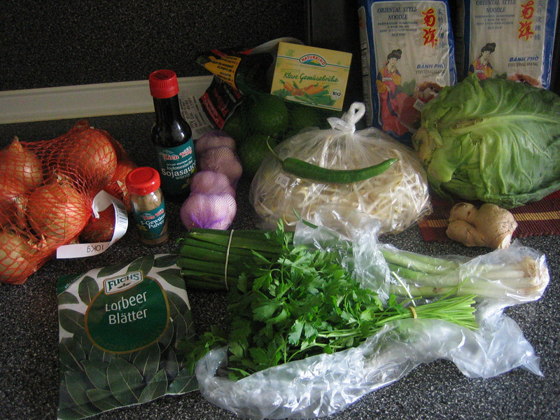 ingredients for phở