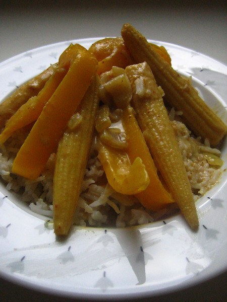 vegetarian yellow curry<br /> enjoy!
